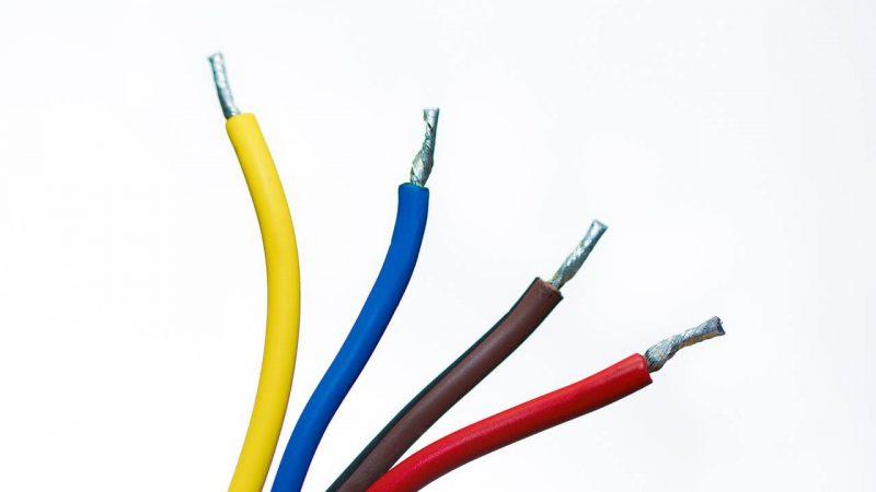 kolory kabli w automatyce