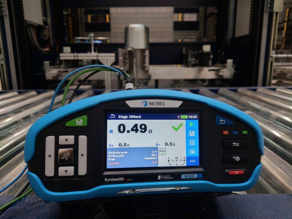 Pomiary elektryczne – protokół odbioru instalacji elektrycznej